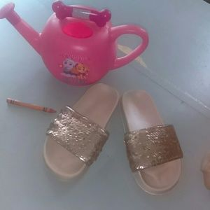 Free Flip Sequins Sandal Slides, Free with bundle!